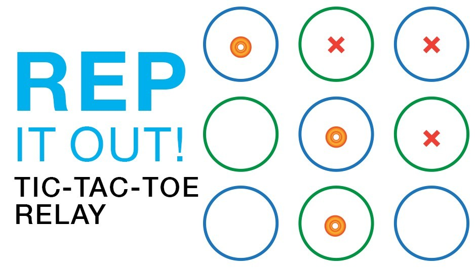 REP Game of the Month: Tic-Tac-Toe Relay