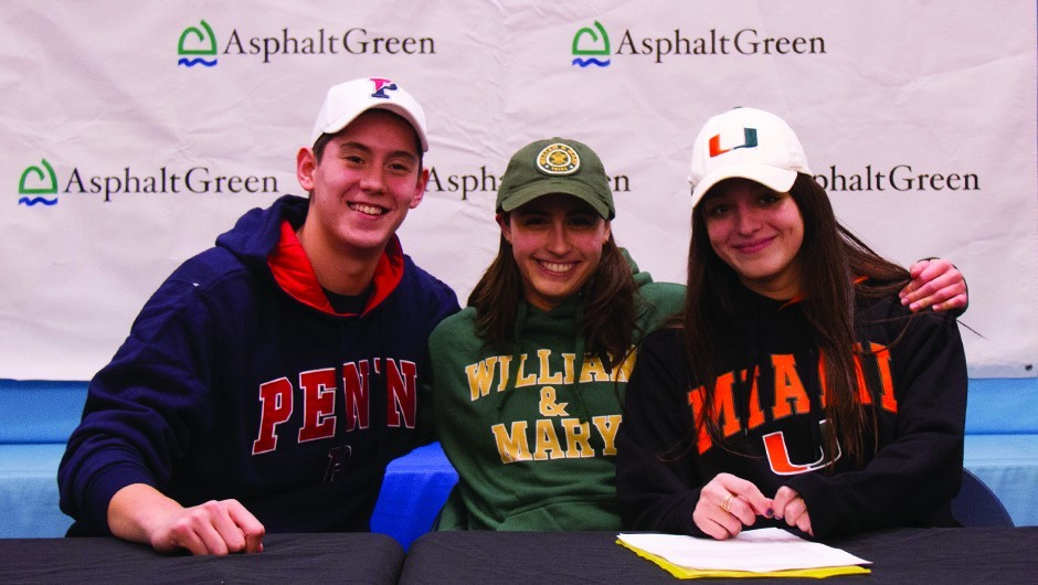 Trio of AGUA Athletes Commit to Swimming in College