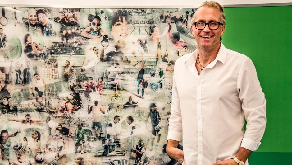 Photographer Captures Asphalt Green's Story Through Collage
