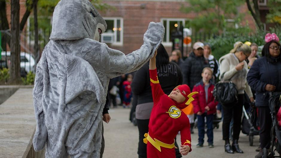 Asphalt Screams Draws Over 1,800 for Active Halloween Fun