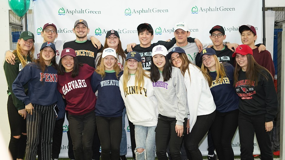 Sixteen AGUA Swim Team Athletes Commit to Swim in College