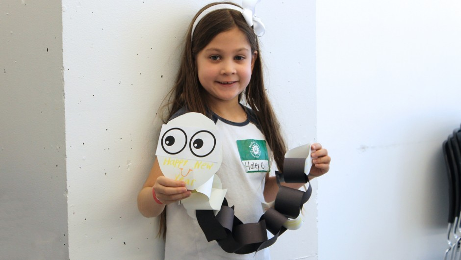 Arts & Crafts Camp Project: Paper Chain Dragons