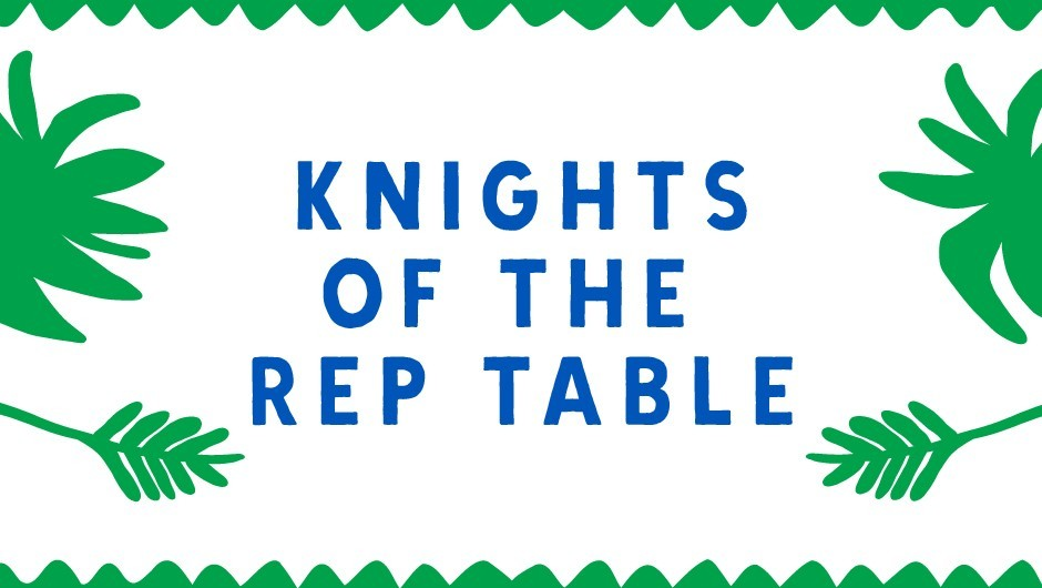 REP Task Tent: Knights of the REP Table