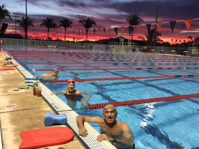 Asphalt Green Masters Swim Team Takes Training to Florida