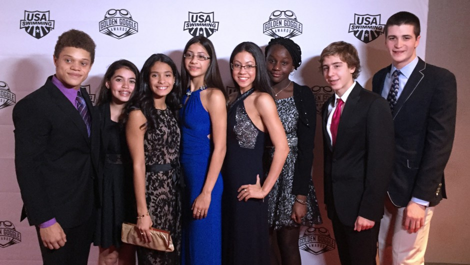 AGUA Swimmers Attended Golden Goggle Gala