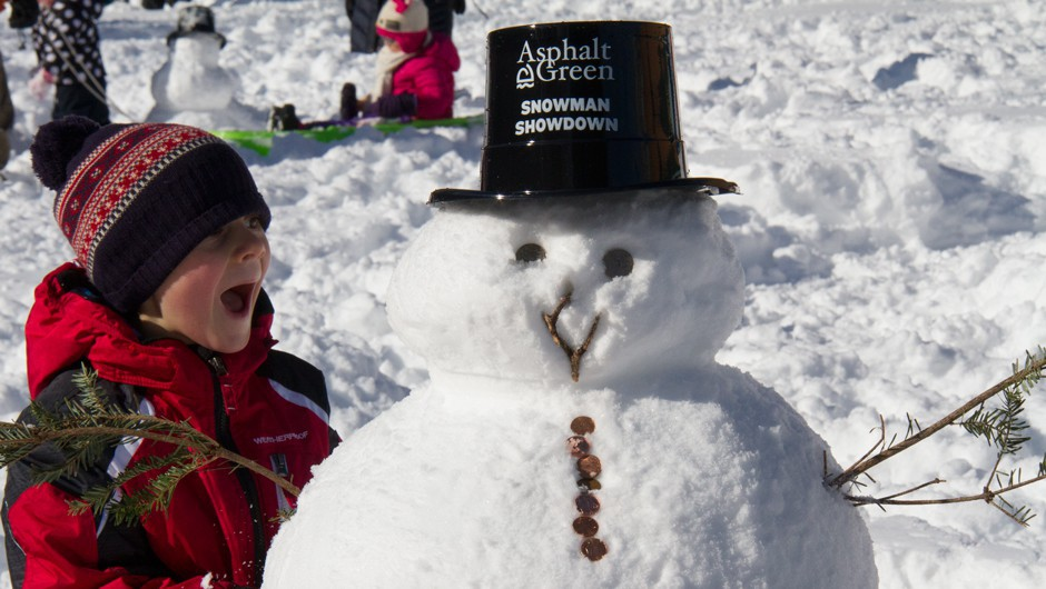 The Cutest Photos from Snowman Showdown 2016!