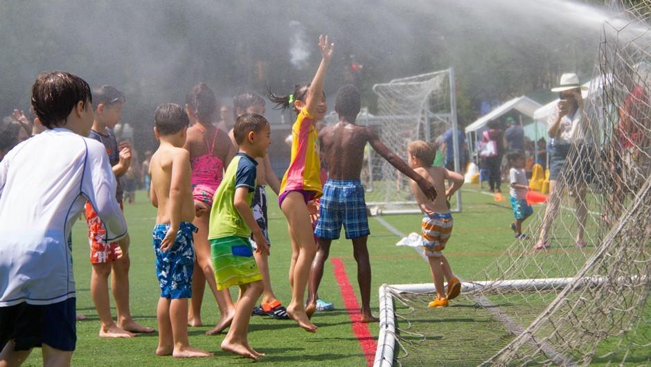 Sprinkler Day Makes a Big Splash at Asphalt Green