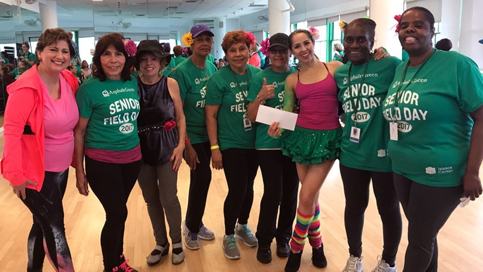Over 75 Get Active at Senior Field Day 2017
