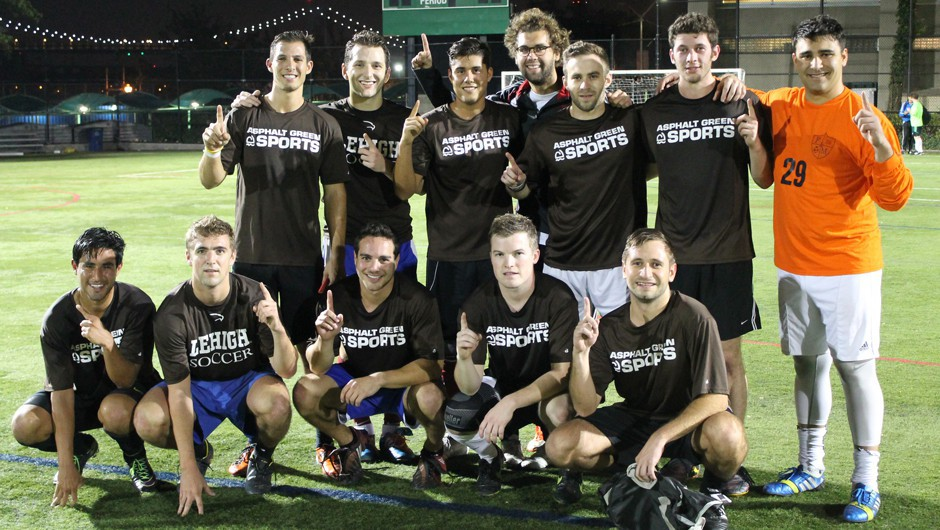 Summer 2014 Men's 8v8 Soccer League Champions