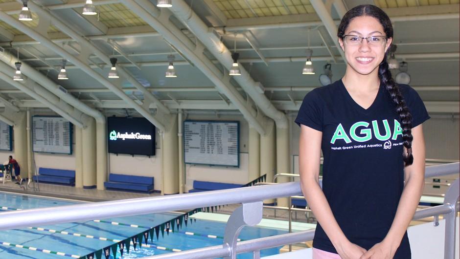 Swim for the Future Scholarship Recipient: Krystal Lara