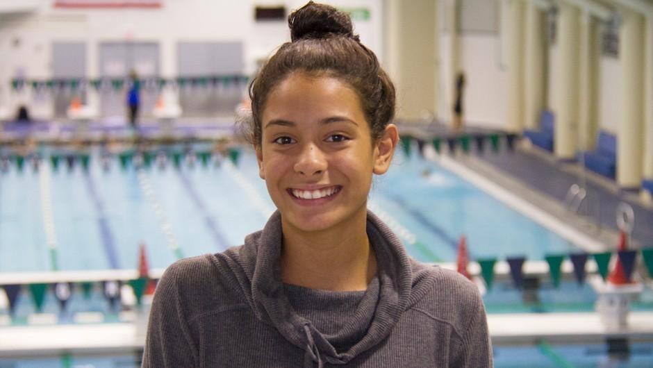 Get to Know Swim for the Future Scholarship Recipient Luiza
