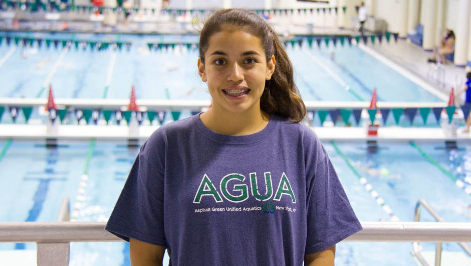 Get to Know Swim for the Future Scholarship Recipient Saida Zerouali