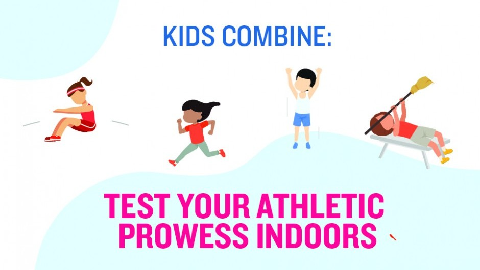Kids Combine: Test Your Athletic Prowess Indoors