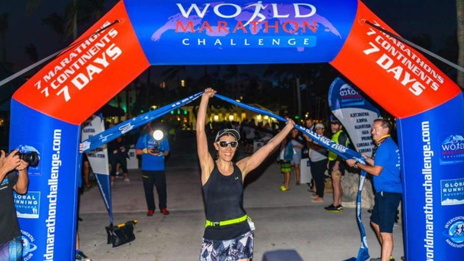 AGUA Masters Coach Completes World Marathon Challenge: 7 Marathons on 7 Continents in 7 Days