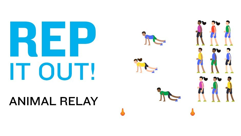 REP Game: Animal Relay
