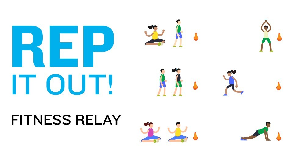 REP Game: Fitness Relay