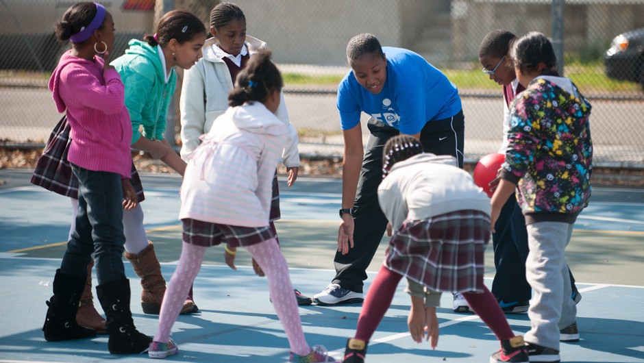 Recess Enhancement Program Kicks Off 2014-2015 School Year