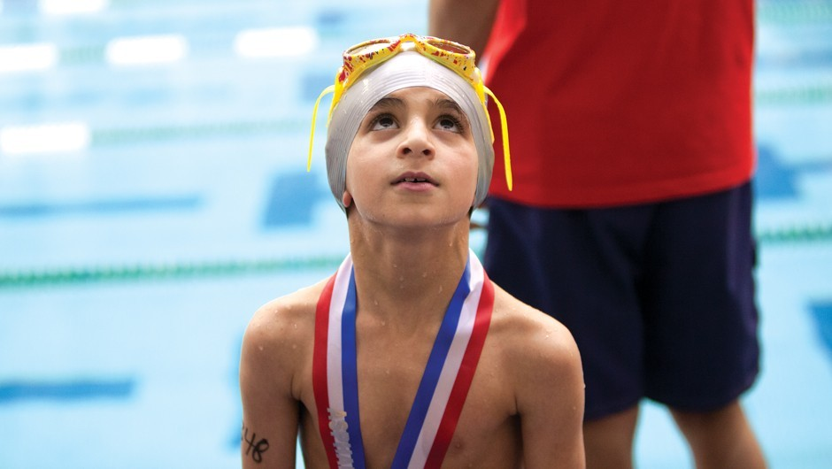 Capturing the Joy of The Big Swim