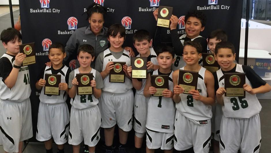 Asphalt Green 10U Basketball Team Wins League Championship