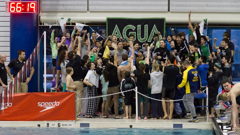 AGUA Swim Team Brings Home 2016 Junior Olympic Championship Title