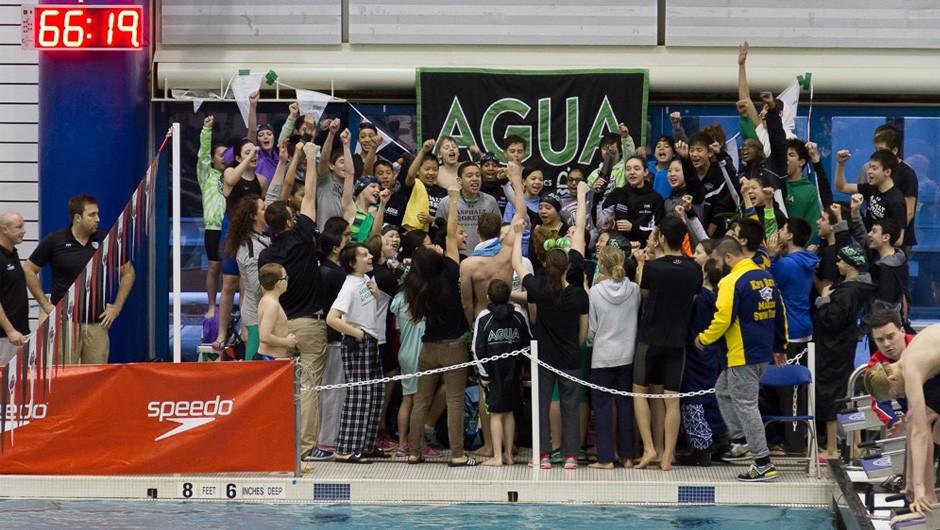 AGUA Swim Team Brings Home 2016 Junior Olympic Championship Title