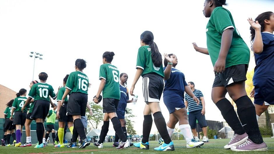 Asphalt Green Awarded Grant from US Soccer Foundation