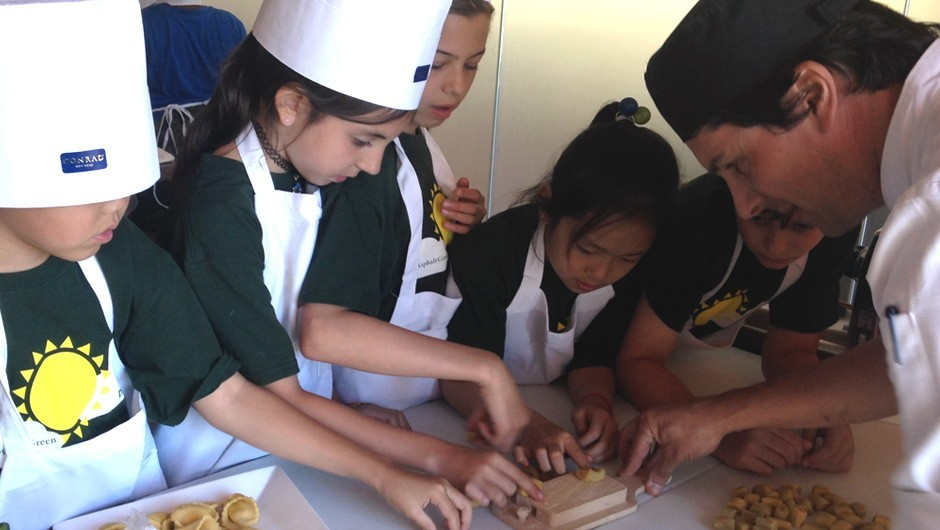 Coins for Campers Winners Celebrate with Cooking Party!