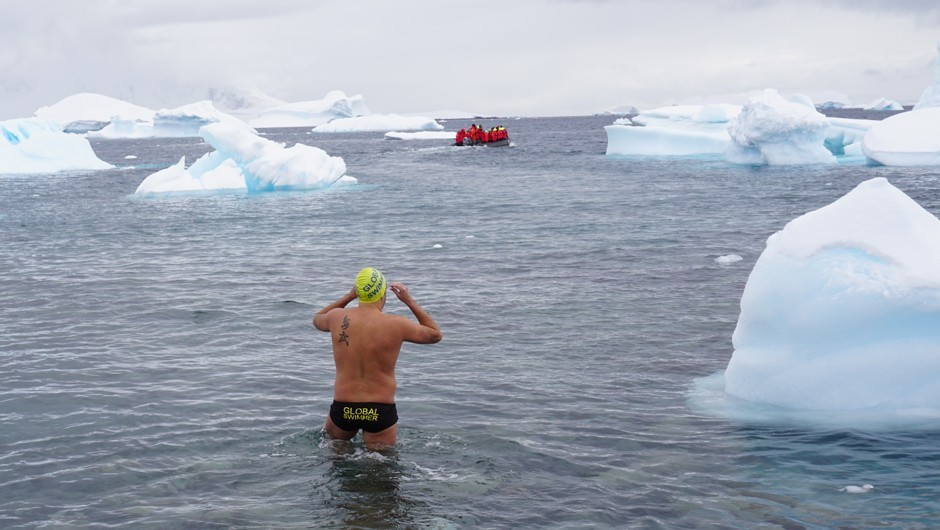 AGUA Masters Swimmer Takes on Ice Swimming, Completes Continents Seven