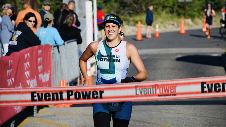 Jackie Fasano: From Swimmer to Triathlete