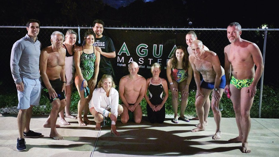 Asphalt Green Masters Swim Team Takes Training to Bahamas