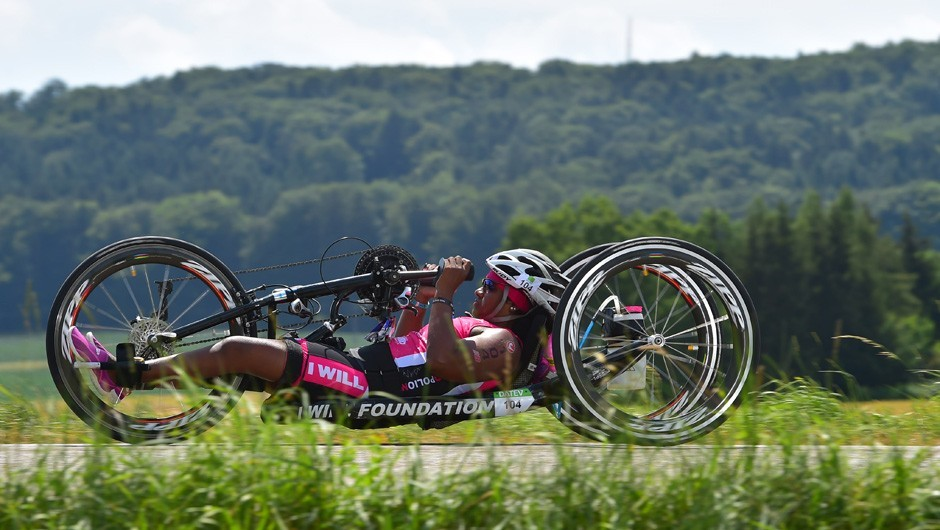Wheelchair Athlete and Triathlon Club Member Minda Dentler Becomes a Three-Time Ironman