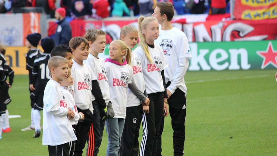 Soccer Club Member Honored at Red Bull Arena for Winning Challenge
