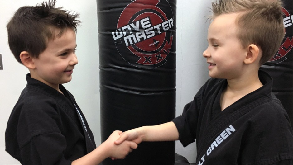 Teamwork: Twins Learn Valuable Skills On and Off the Mat